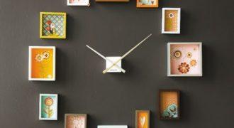 Миниатюра к статье 8 чудесных настенных часов, которые вы захотите сделать своими руками