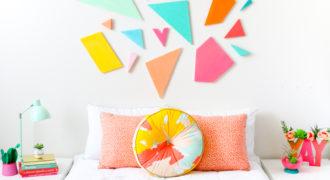 Миниатюра к статье 13 простых идей как сделать декор для комнаты девочки-подростка своими руками