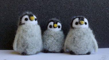 Миниатюра к статье Пингвин из шерсти — симпатичный сувенир