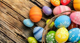 Миниатюра к статье 20 оригинальных идей окрашивания яиц на Пасху своими руками