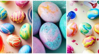 Миниатюра к статье 3 самых красивых способа покрасить пасхальные яйца