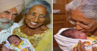 Миниатюра к статье В Индии женщина родила первенца в 72 года (фото)