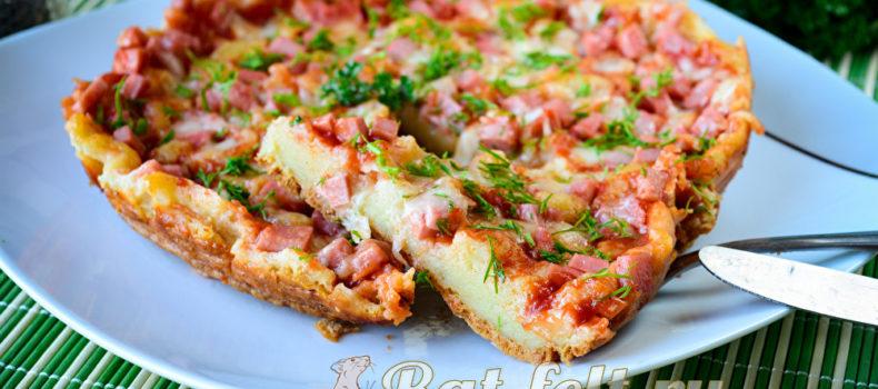 Миниатюра к статье Быстрая пицца на кефире за 10 минут