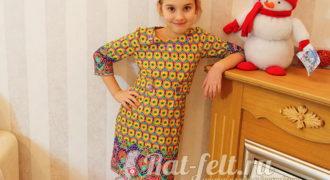 Миниатюра к статье Как пошить детское платье за 2 дня