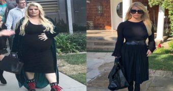 Миниатюра к статье Джессика Симпсон похудела на 45 килограммов