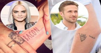 Миниатюра к статье Ужасные татуировки знаменитостей