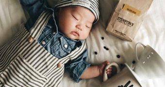 Миниатюра к статье 41 идея для фотосессии спящих малышей - мечты и амбиции