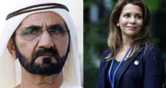 Миниатюра к статье Жена правителя Дубая сбежала, забрав ребенка и миллионы