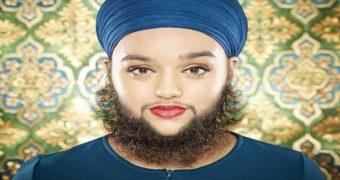 Миниатюра к статье Бородатая женщина с редким гормональным заболеванием