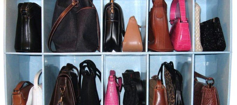 Миниатюра к статье Лучшие идеи хранения сумочек (50 фото)