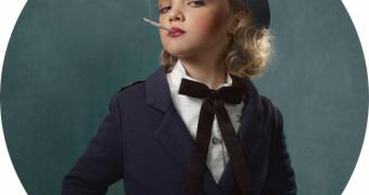 Миниатюра к статье Спорные и шокирующие фотографии курящих детей - кампания против курения