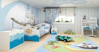 Миниатюра к статье Лучшие идеи для оформления детской комнаты мальчика 4-6 лет