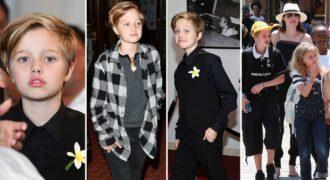 Миниатюра к статье Шайло Джоли-Питт все-таки девочка или мальчик (фото)