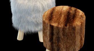 Миниатюра к статье 15 вариантов мебели с искусственным мехом своими руками