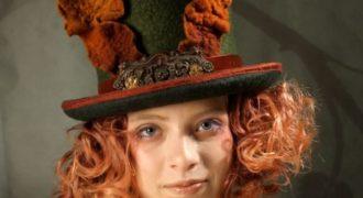 Миниатюра к статье Валяные шляпки и шарфы-Драконы от MossFete