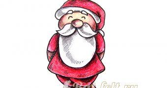 Миниатюра к статье Как нарисовать Деда Мороза
