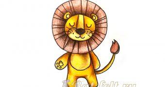Миниатюра к статье Как легко и красиво нарисовать льва - пошаговый мастер-класс