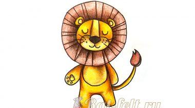 Миниатюра к статье Как легко и красиво нарисовать льва — пошаговый мастер-класс