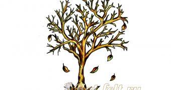 Миниатюра к статье Как нарисовать осеннее дерево