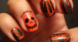 Миниатюра к статье 15 идей для хэллоуинского маникюра