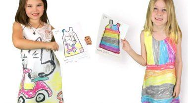 Миниатюра к статье Компания, которая позволяет детям самим создавать свою одежду!