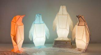 Миниатюра к статье OWL paperlamps — оригинальные лампы-оригами. Создайте свой ночник сами
