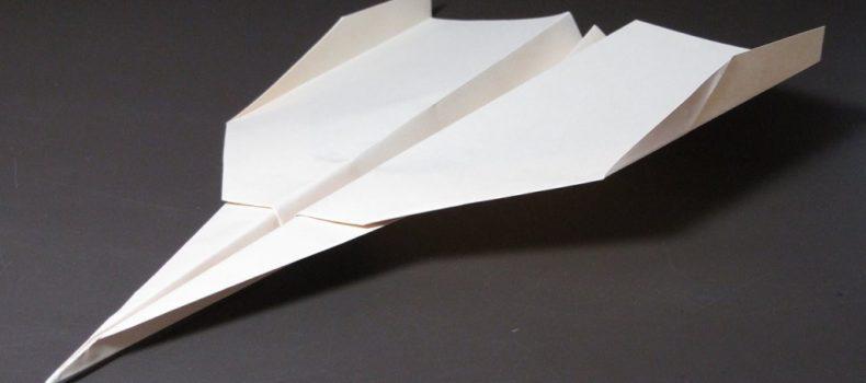 Миниатюра к статье Бумажный самолет, который долго летает: до 100 метров