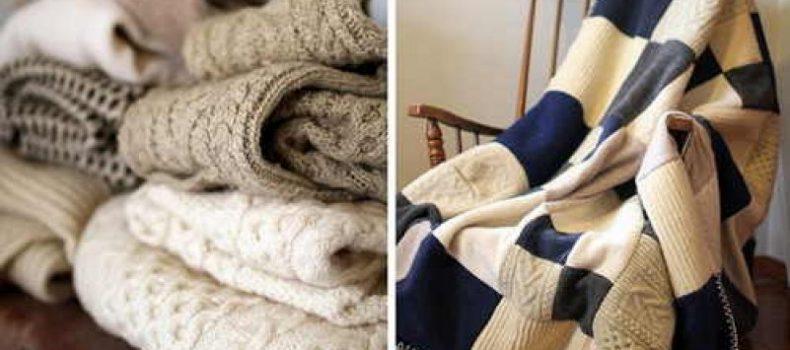 Миниатюра к статье 23 идеи, что можно сделать из старого свитера