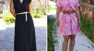 Миниатюра к статье 5 простых и симпатичных платьев с выкройками