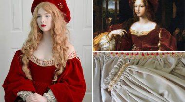 Миниатюра к статье Волшебные платья из сказки 18-ти летней дизайнерши