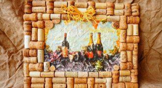 Миниатюра к статье Поделки из пробок от бутылок шампанского своими руками: красивые необычные вещи