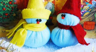 Миниатюра к статье Интересные и простые поделки на Новый год в детский сад