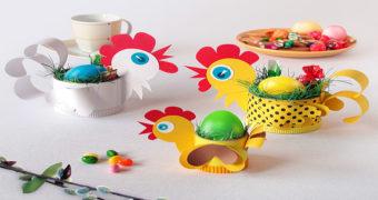 Миниатюра к статье 6 интересных Пасхальных поделок в детский сад