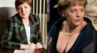 Миниатюра к статье Ангела Меркель в молодости (фото на пляже)