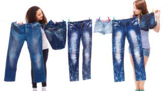 Миниатюра к статье Как постирать и высушить джинсы, чтобы они сели по фигуре правильно
