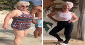 Миниатюра к статье 73-летняя Джоан Макдональд похудела на 30 кг и нарастила мышцы в спортзале