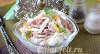 Миниатюра к статье Вкусный салат «Ташкент»