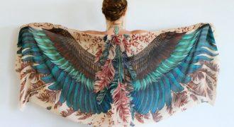 Миниатюра к статье Великолепные шарфы, которые подарят вам крылья