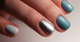 Миниатюра к статье Маникюр на короткие ногти зима 2019