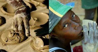 Миниатюра к статье На Гаити люди едят лепешки из грязи, чтобы выжить