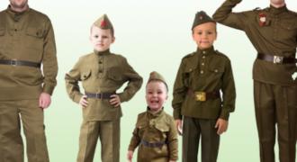 Миниатюра к статье Как сделать военный костюм на карнавал