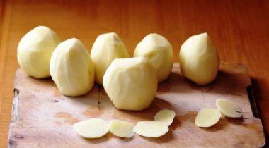 Миниатюра к статье Способы, как правильно хранить очищенную картошку