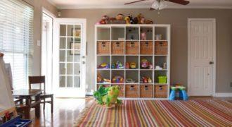 Миниатюра к статье Интересные стеллажи для детской комнаты (50 фото)