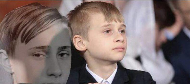 Миниатюра к статье Сын Алины Кабаевой вылитый Путин (фото)
