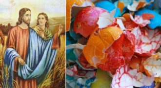 Миниатюра к статье Куда девать скорлупу от освященных пасхальных яиц