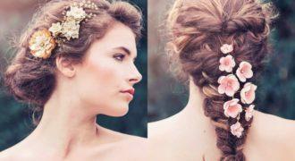 Миниатюра к статье Сказочно нежные свадебные украшения для волос — почувствуй себя принцессой