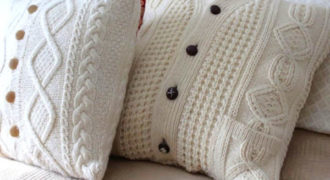 Миниатюра к статье Идеи что можно сделать из старого свитера своими руками