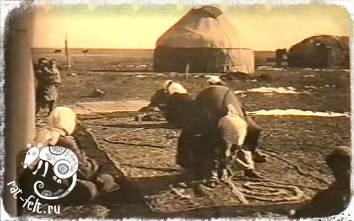 Иранская традиция валяния