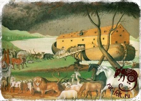 История валяния - первый ковер появился на ноевом ковчеге