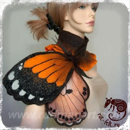 Ирина Рудман шарф бабочка